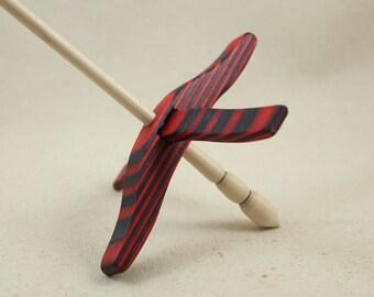 AppleJack SpectraPly Medium Glider Turkish Drop Spindle
