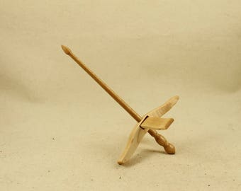 Maple Mini Glider Turkish Drop Spindle Maple
