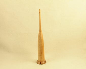 1.2 oz Maple Scottish style drop spindle 8 inch