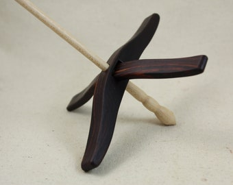 Cocobolo Full size Glider Turkish Drop Spindle