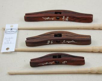 Cocobolo Glider Turkish Drop Spindle Set