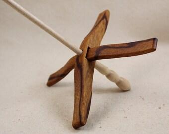 11.20.1 Marblewood Full Size Glider Turkish Drop Spindle