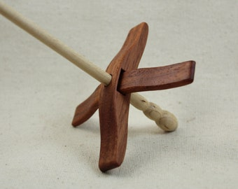 Brazilian Cherry Mini Glider Turkish Drop Spindle