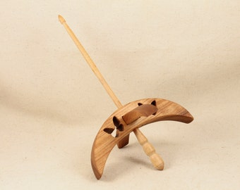 Cut-out Butterfly Turkish Drop Spindle