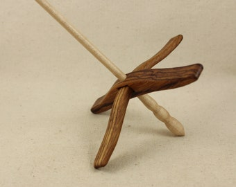 Zebrawood Full Size Glider Turkish Drop Spindle