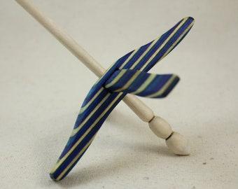 Caribbean Wave SpectraPly Medium Glider Turkish Drop Spindle
