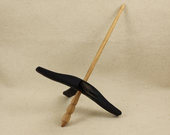 Wenge Full Size Glider Turkish Drop Spindle