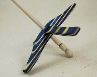 Caribbean Wave SpectraPly Full size Glider Turkish Drop Spindle