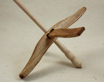Maple Full Size Glider Turkish Drop Spindle
