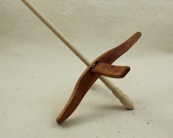 Canary wood Glider Turkish Drop Spindle