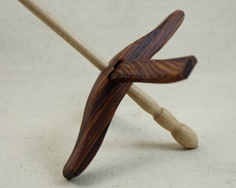 4.19.2 Cocobolo Medium Glider Turkish Drop Spindle