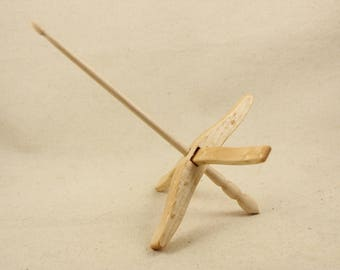 Birdseye Maple Full Size Glider Turkish Drop Spindle  (11/30/2)