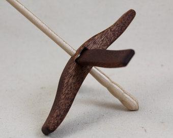 Mahogany Medium Glider Turkish Drop Spindle