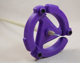 3D printed  45 spindle Top Whorl Drop Spindle Meduim Weight