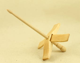"Maple Mini Glider Turkish Drop Spindle (5/8"")"