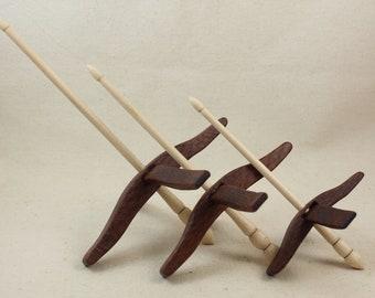 Leopardwood Glider Turkish Drop Spindle Set