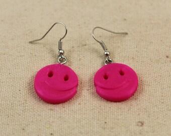 3D Printed Smile Earrings