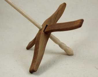 Teak Full Size Glider Turkish Drop Spindle