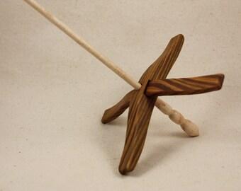 Lignum Vitae Glider Turkish Drop Spindle