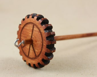 Light Weight Peace Symbol Gear Spindle