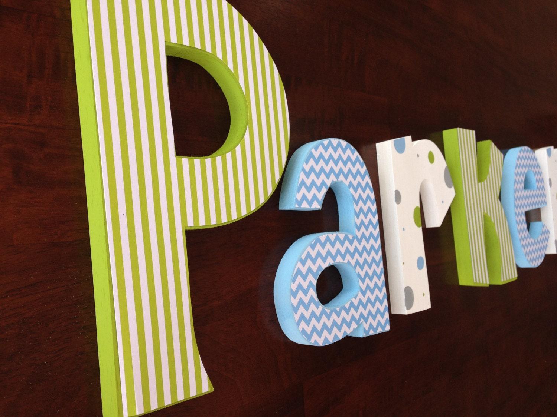 Nursery decor Hanging nursery letters nursery letters baby