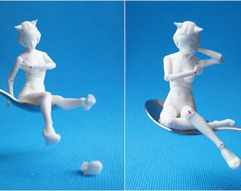 BJD doll Eve height 15 cm (scale 1/12) Elleo Dolls