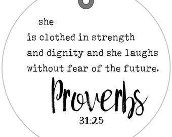 Bible verse bag tag etsy proverbs scripture bag tag proverbs 3125 bible verse spiritual gifts new driver ideas prayer group gifts religious quotes negle Images