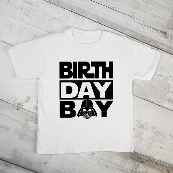 Darth Vader Birthday Boy Shirt Disney Family