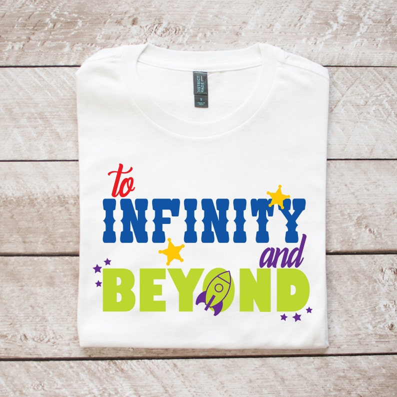 9366ac1b46 To Infinity and Beyond Shirt Toy Story Buzz Lightyear | Etsy