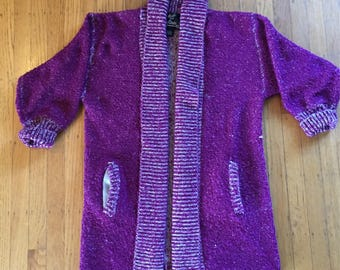 80s slouch cardigan