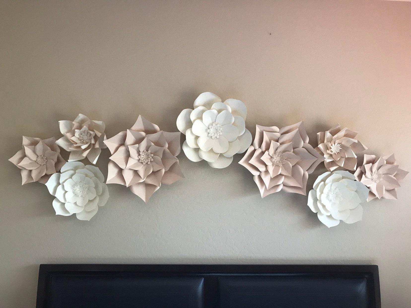 Salepaper Flower Backdropwedding Decorbridal Shower Etsy