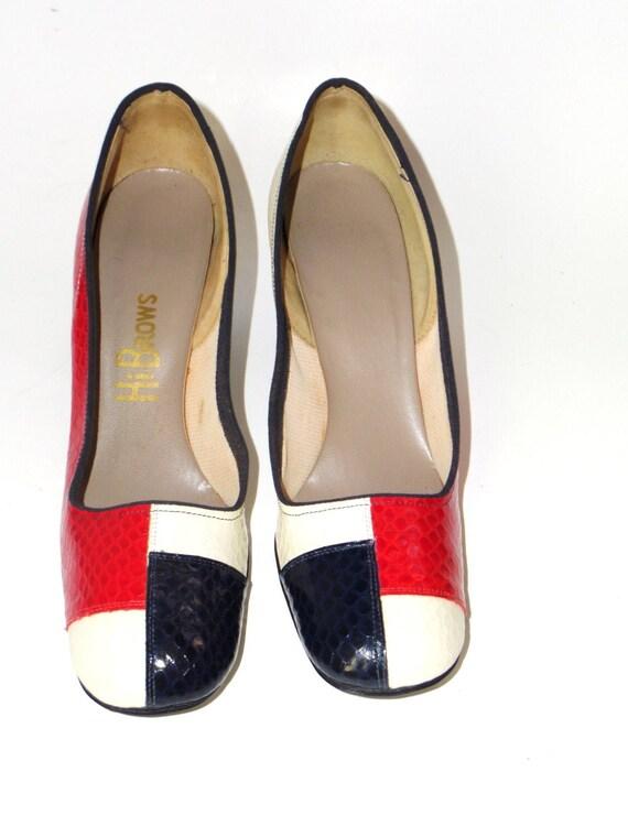 1940's Vintage VTG Women HiBrows Hi Brows Colorblo