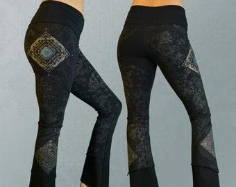 579c497802 Bamboo Yoga Pants - Temple - Black