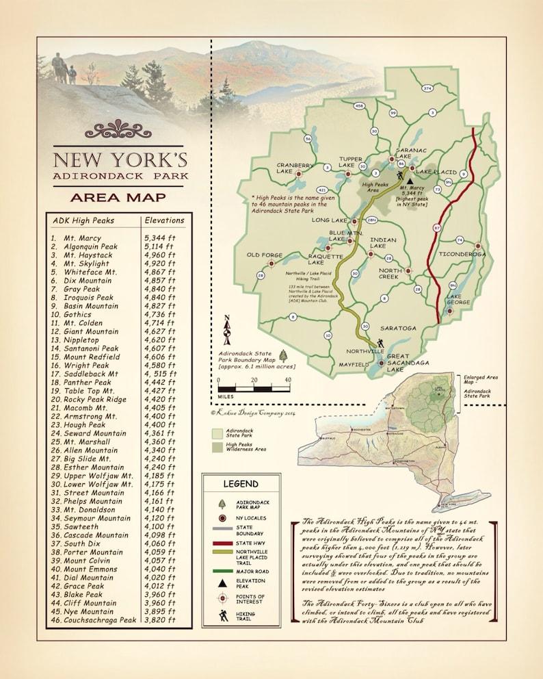 New York's Adirondack Park & High peaks 11