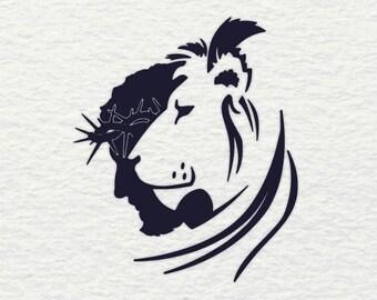 Lion Of Judah Svg Etsy