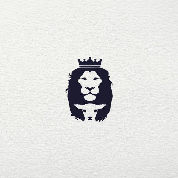 Lion Lamb Svg Lion Svg Lamb Svg Jesus Svg Lion Lamb Etsy