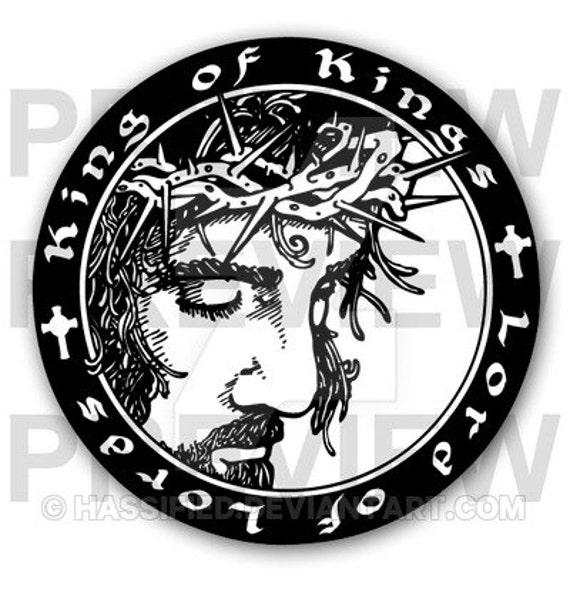 Cut Lords King Christian Cutfile Silhouette Printable Art For Svg Clipart Htv File Cricut Of KingsLord j3RL54A