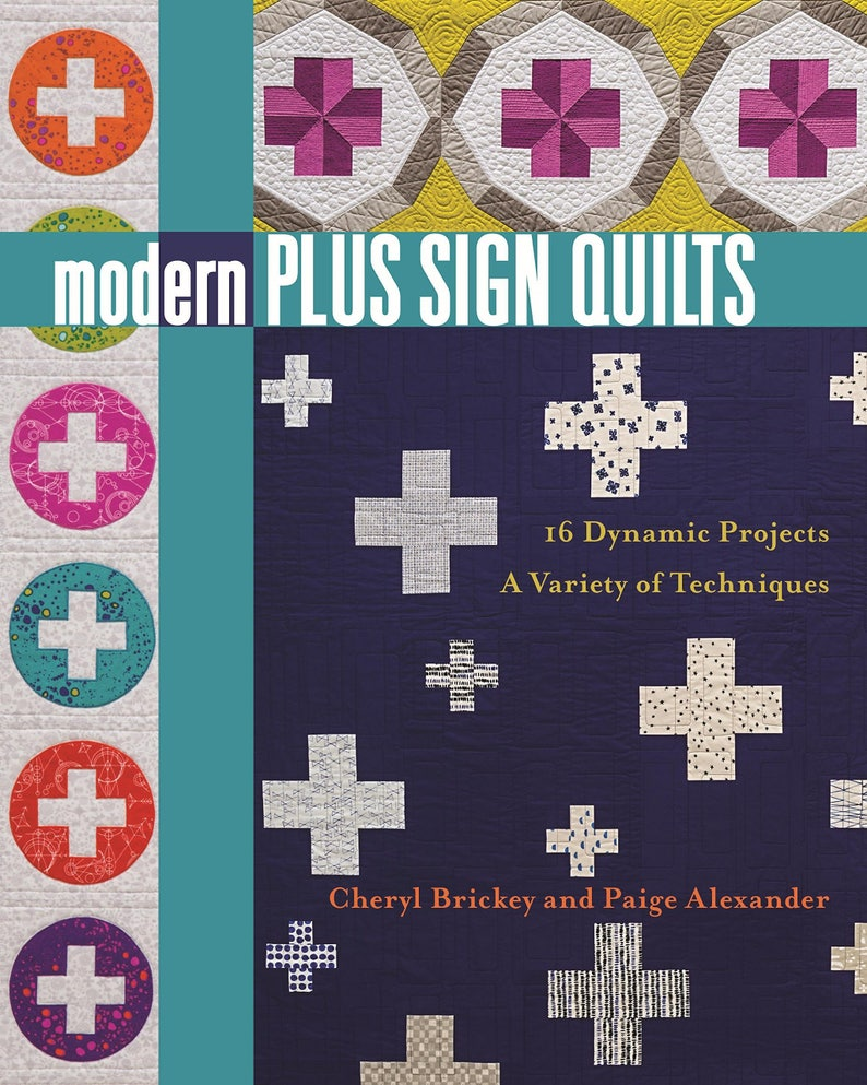 Modern Plus Sign Quilts Book image 0