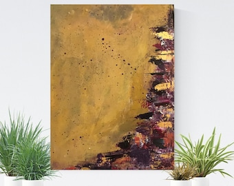 """Abstract Painting / Contemporary Art / Original Artwork.  Acrylic on Canvas 9 x12"""""""