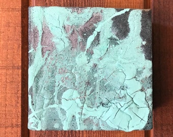 Small Abstract Cube Painting 2