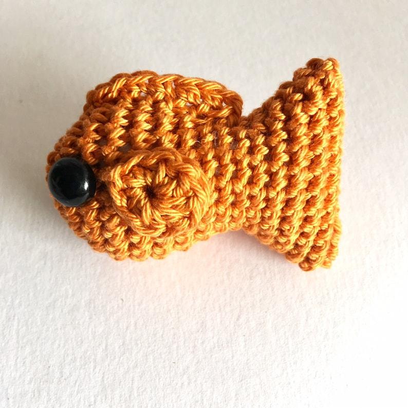 Crochet Pattern  No Fuss Fish amigurumi goldfish pattern inc image 0