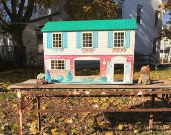 Tin Litho Dollhouse Etsy
