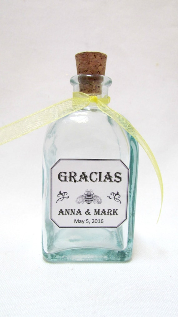 Patron Tequila Themed Favors 12 Personalized 3 Oz Favors For Etsy