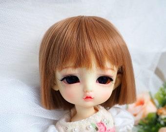 bjd doll girl wig L-12 (2 colors) for lati yellow fl pukifee ob11 DZ Luts linachouchou darak