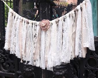 lace fabric backdrop,birthday,wedding party Garland wall decor