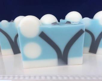 Crisp Cotton Glycerin Soap - Handmade Soap - Glycerin Soap - Gift Soap - Cotton Soap