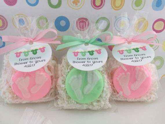 Baby Shower Soap Favors Baby Feet Soap Favors Shower Etsy