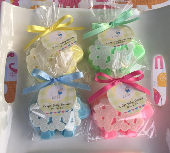 Sheep Soap Favors Baby Shower Soap Favors Shower Favors Etsy