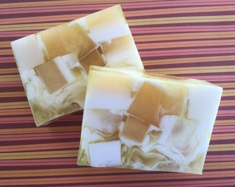 Calamondin Sea Salt Scented Soap - Glycerin Soap - Gift Soap - Handmade Soap - Fall Soap