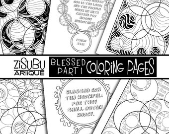 Adult Teen Scripture Coloring